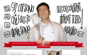 Il sito web del ristorante Gigi Mangia
